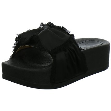 OOG Plateau Pantolette schwarz
