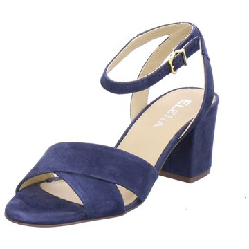 ELENA Italy Riemchensandalette blau