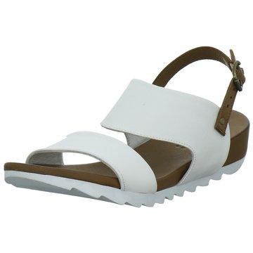 MACA Kitzbühel Sandale weiß