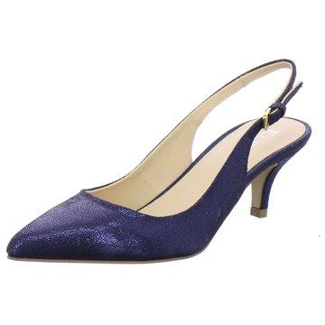 ELENA Italy Slingpumps blau