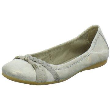 Mjus Klassischer Ballerina silber