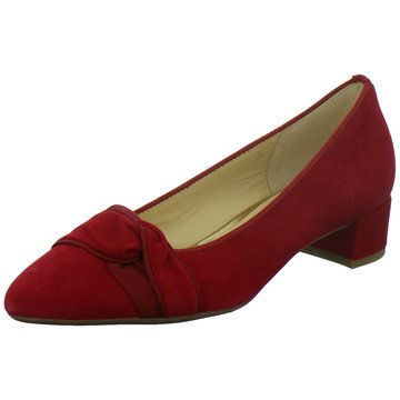 Gabor Flacher Pumps rot
