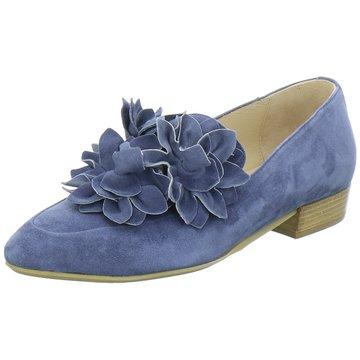 Donna Carolina Klassischer Slipper blau