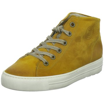 Paul Green Sneaker High gelb