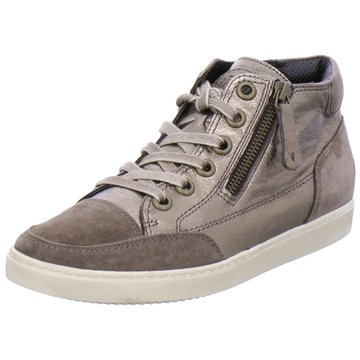 Paul Green Sneaker High silber