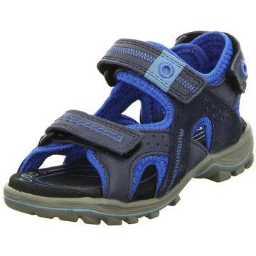 Eccolet Offene Schuhe blau