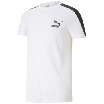 Puma T-ShirtsICONIC T7 TEE - 599869 weiß