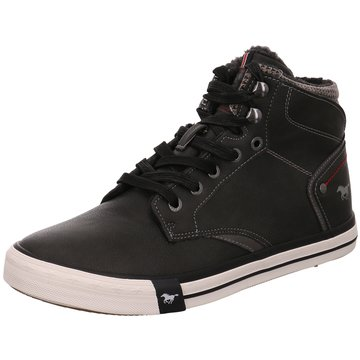 Mustang Sneaker High schwarz