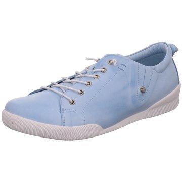 1279d698d762c5 Andrea Conti Sportlicher Schnürschuh blau