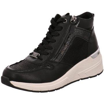 Supremo Sneaker Wedges schwarz