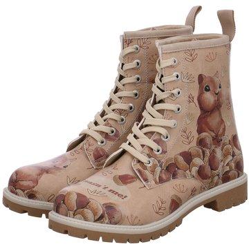 Dogo Shoes Schnürboot rosa