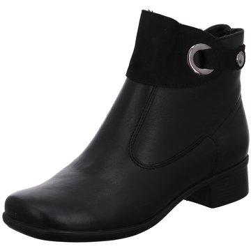 Aco Komfort Stiefelette schwarz