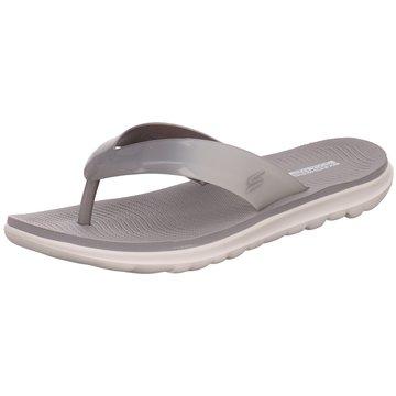 Skechers Pool Slides grau