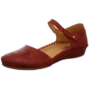 Pikolinos Komfort Sandale rot