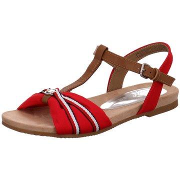 Tom Tailor Sandale rot