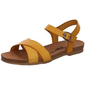 Mustang Komfort Sandale gelb