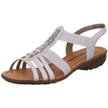Remonte Komfort Sandale silber