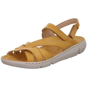 Free Walk Komfort Sandale gelb