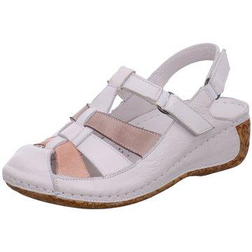 Gemini Komfort Sandale weiß