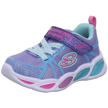 Skechers Kleinkinder MädchenS Lights Shimmer Beams Sporty Glow blau