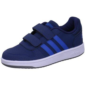 adidas KlettschuhHoops 2.0 CMF C blau