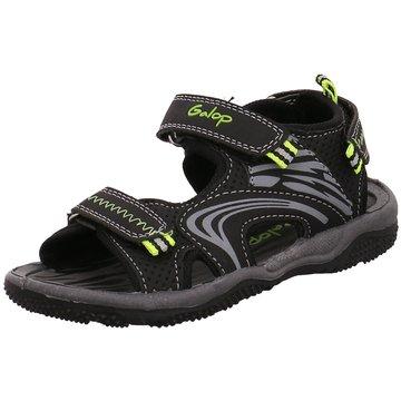 Galop Offene Schuhe schwarz