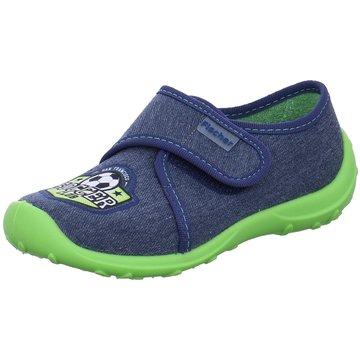Fischer Schuhe HausschuhSoccer blau