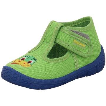 Fischer Schuhe HausschuhSchlange grün
