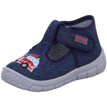 Fischer Schuhe HausschuhFeuerwehr blau