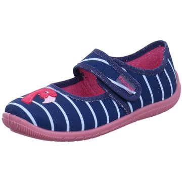 Fischer Schuhe HausschuhFlamingo blau