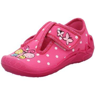 Fischer Schuhe Hausschuh pink