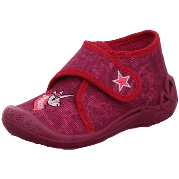 Fischer Schuhe HausschuhEinhorn rot