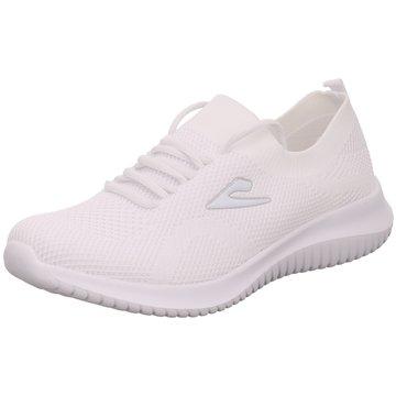 Hengst Footwear Komfort Schnürschuh weiß