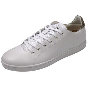 Woden Sneaker LowJane Leather II weiß