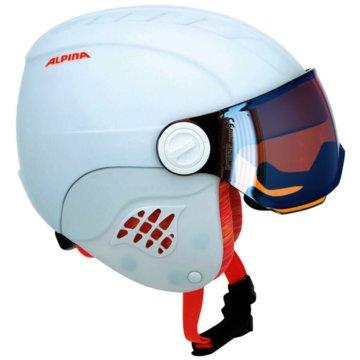 ALPINA SkihelmeCARAT LE VISOR HM - A9084 weiß