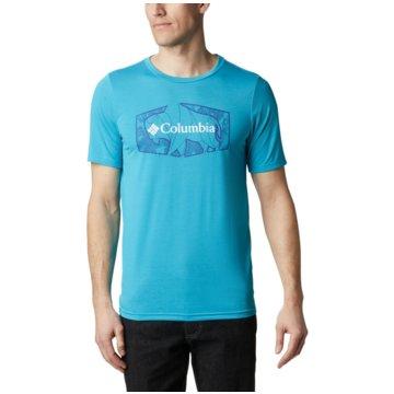 Columbia T-ShirtsTERRA VALE II SS TEE - 1888843 blau