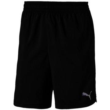Puma kurze SporthosenWOVEN SHORT - 518387 001 schwarz