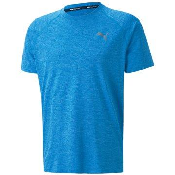 Puma T-ShirtsHEATHER SS TEE - 519048-012 blau