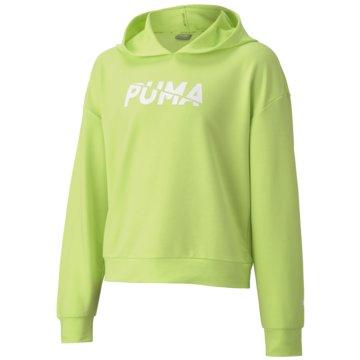 Puma PulloverMODERN SPORTS HOODIE G - 583323-034 grün