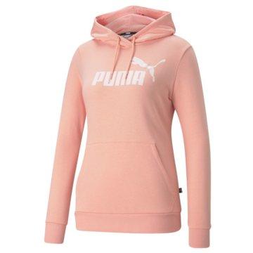 Puma SweatshirtsESS LOGO HOODIE TR (S) - 586797 rosa