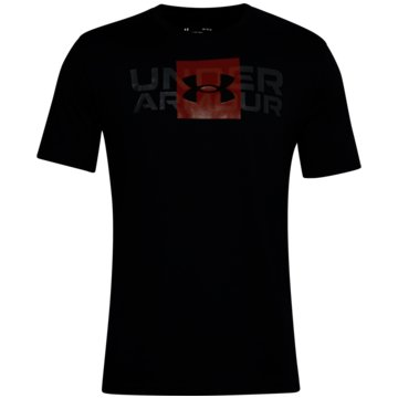 Under Armour T-ShirtsBOX LOGO WORDMARK SS - 1357156 001 schwarz