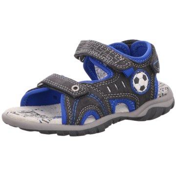 Indigo Offene Schuhe grau
