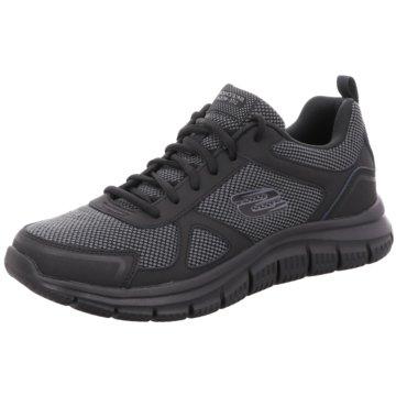 Skechers Sneaker LowTrack Bucolo schwarz