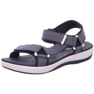 Clarks Komfort Sandale blau