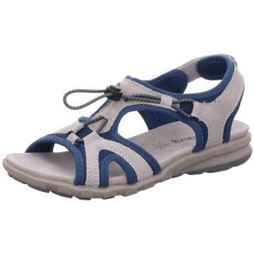 Scandi Offene Schuhe grau