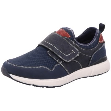 BM Footwear Sportlicher Slipper blau