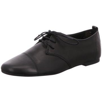 Tamaris Eleganter Schnürschuh schwarz