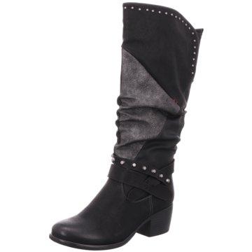 Remonte Klassischer Stiefel grau