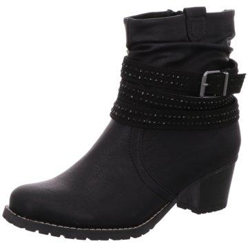 Idana Klassische Stiefelette schwarz