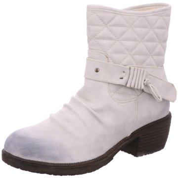 Super In Klassische Stiefelette weiß